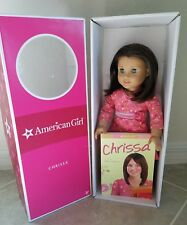 EUC RARE 2009 GOTY American Girl Doll Chrissa with book in ORIGINAL BOX RETRIED