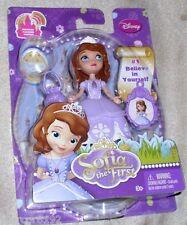 "Disney Sofia The First Princess Sofia Doll 3""  With Charm #1 New"