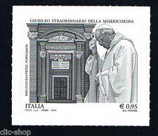 ITALIA 1 FRANCOBOLLO GIUBILEO STRAORDINARIO MISERICORDIA BASILICA 2015 nuovo**