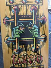 Black Label John Lucero OG BARS Skateboard Deck Yellow