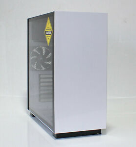 PC-Gehäuse Sharkoon Pure Steel Weiß (FQ14P7NB)