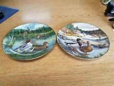 Edwin M. Knowles Plate 2 1986 Duck Plates by Bart Jerner