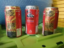 Olympic & Australian Grand Prix Coke Cans From 1996
