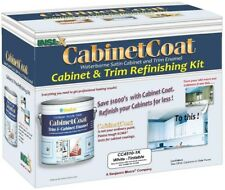 Cabinet Coat 1 Gal. White Trim/Cabinet Enamel Paint Finish Kit With Applicators