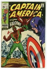 Captain America 117 Marvel Comics 1969 Jack Kirby 1st app THE FALCON! (j#1893)
