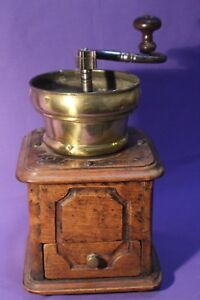 Kaffeemühle Trichter offen flämische  moulin a cafe coffee grinder * K-6325