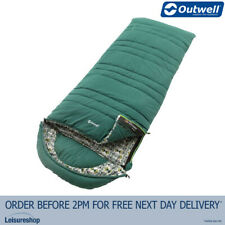 Outwell Camper Supreme Sleeping Bag -Petrol Blue -Camping/Hiking/Outdoor/Travel
