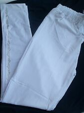 GARDY RHINESTONE PANT  LEGGINGS         SM      WHITE