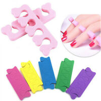 20x Sponge Finger Toe Separator Divider Spacer Nail Art Salon Pedicure Manicure