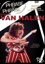 Phrase By Phrase™ Guitar Method DVD Exploring Classic Eddie Van Halen