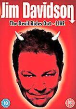 JIM DAVIDSON THE DEVIL RIDES OUT LIVE EDINBURGH PLAYHOUSE UNIVERSAL UK DVD NEW