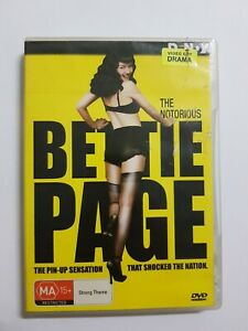 The Notorious Bettie Page Dvd Movie Region 4 Ex Rental 2006 MA15+