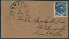 "CSA #2b (HOYER & LUDWIG) ON COVER ARMY FIELD GRID CNL ""FARMVILLE, VA"" BS6528"