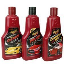 Meguiar's Deep Crystal Set Step 1-3 Cleaner, Polish, wax 24,59eur/l