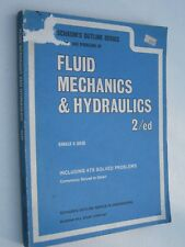 Fluid Mechanics & Hydraulics 2nd Ed(1962) Schaum's Outline Series in Engineering