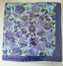 Personalised Floral Silk Handkerchief from only £7.88