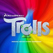 TROLLS (ANIMATION MOVIE SOUNDTRACK CD - SEALED + FREE POST)