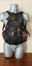 """Oakley Icon Small 13"""" Backpack Rare Orange Graphic Design"""