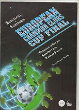 Original prg EC 1 91/92 Finale fc barcelona-sampdoria génova!!! rareza