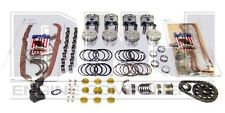 1968-1980 FITS CHEVY GMC 5.7 350 ENGINE MASTER REBUILD KIT WITH FLAT TOP PISTONS
