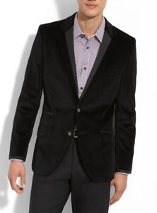 New with tags TED BAKER Black Velvet Blazer Jacket RRP: $729.00