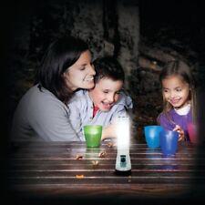 Life Gear Red Wh Glow Flasher LED Flashlight Lantern Floats Travel Emerg. Beacon