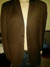 mens designer suit GIORGIO GOSANI SZ 38 LUXURY FINE WOOL & CASHMERE NOW  $45.75!