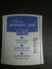 "Classic Stamin' Ink Pad Stampin' Up!   ""Lovely Lilac"" RETIRED"