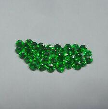 Natural de corte de la Esmeralda Redondo Facetado Piedra Suelta 1mm 1.5mm 2mm 2.5mm 10 Piezas Lote