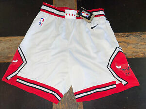 🔥Nike Chicago Bulls Swingman Association Edition Shorts White/Red XXL 46 Jordan