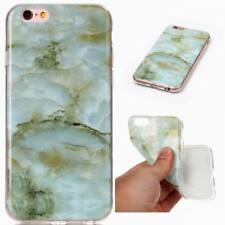 Luxury Marble Texture Pattern Soft TPU Case Rubber Cover For iPhone 8 7 6 Plus X