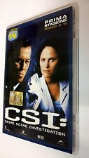 CSI Scena del crimine  Crime Scene Investigation DVD Serie TV Stagione 1 vol. 3