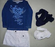 Ensemble Jupe Et Tee Shirt 3 Ans Vertbaudet Et U Rose Et Bleu