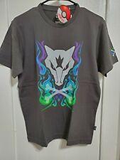 US SELLER- UTGP2019 Pokemon UT Uniqlo Men's T-Shirt Marowak Dark Gray