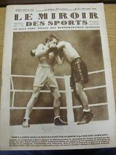 04/12/1928 le MIROIR DES SPORTS MAGAZINE: numero: 459, il contenuto da includere, 24/11