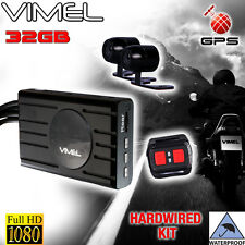 Twin Bike Camera Motorcycle GPS 1080 Dual Car Waterproof Hardwired Truck Best