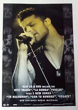 Ricky Martin Livin' la Vida Loca Unplugged Rare US Promo Poster