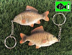 Carp Keyring ,Carp Fishing, Common carp keyring. Anglers Keyring, Fish Keyring.