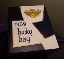 U.S. Naval Academy Yearbook Luck Bag 1959 (Joe Bellino Featured Yearbook)