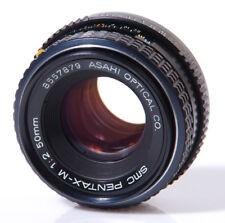 OBJECTIF PENTAX K : SMC PENTAX-M 2/50mm PENTAX K