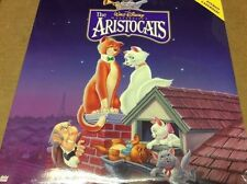 THE ARISTOCATS Disney Masterpiece JAPAN LASERDISC LD BRAND NEW