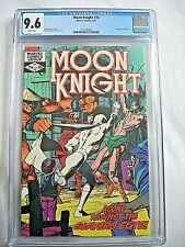 Marvel MOON KNIGHT #18 CGC 9.6 NM+ White Pages Bill Sienkiewicz 1982