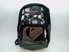Quik Silver backpack Schoolie black grey orange style 1153041005
