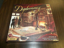 DIPLOMACY!! Game of International Intrigue, Trust, + Treachery!! New + Sealed!