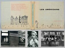 Les Americains by Robert Frank, 1958, The True First Edition, First Printing