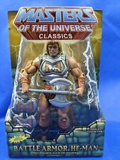 Masters of the Universe Classics MOTUC Battle Armor He-Man New in Box