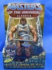 Masters of the Universe Classics MOTUC Battle Armor He-Man New in Box