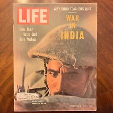 LIFE Magazine November 16 1962 ~ War in India ~ Why Good Teachers Quit Ads (3)