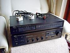AMPLIFICATORE YAMAHA A-420 con Phono MM/MC STADIO & YAMAHA Tuner * MADE IN JAPAN *