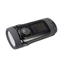 PowerPlus Barracuda Waterproof to 5 metres Solar & Dynamo bright LED Flashlight